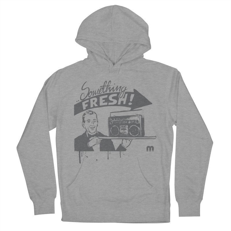 Something Fresh Men's French Terry Pullover Hoody by magneticclothing's Artist Shop