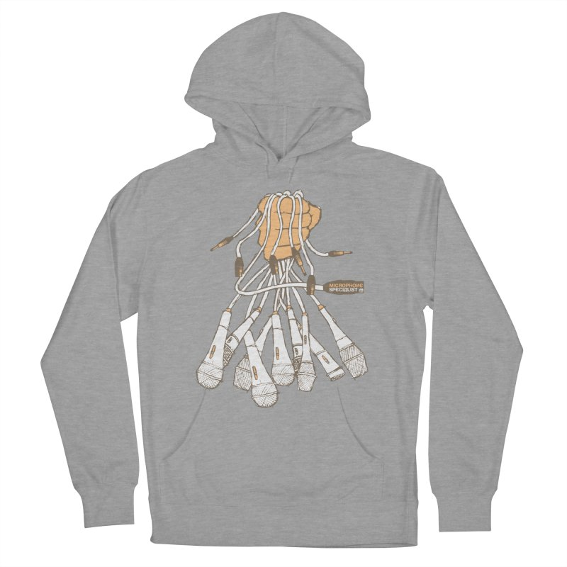 Microphone Specialist Women's Pullover Hoody by magneticclothing's Artist Shop
