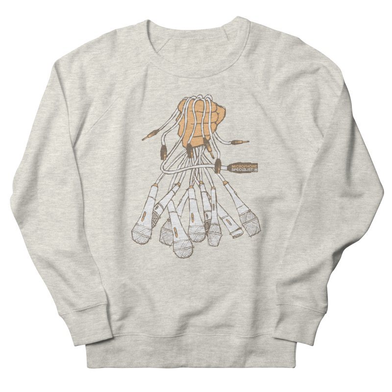 Microphone Specialist Men's Sweatshirt by magneticclothing's Artist Shop