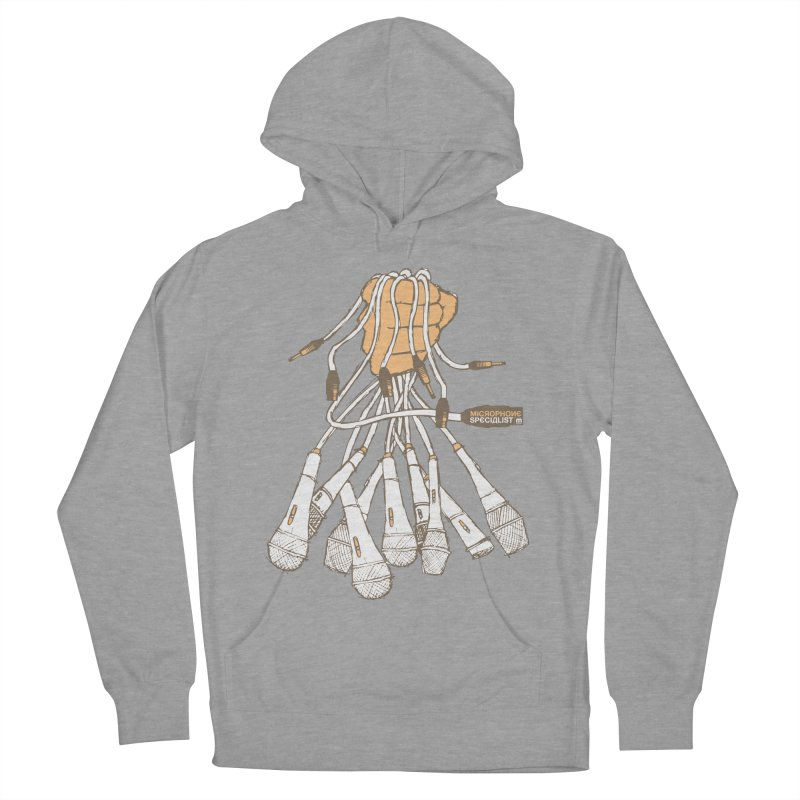 Microphone Specialist Women's French Terry Pullover Hoody by magneticclothing's Artist Shop