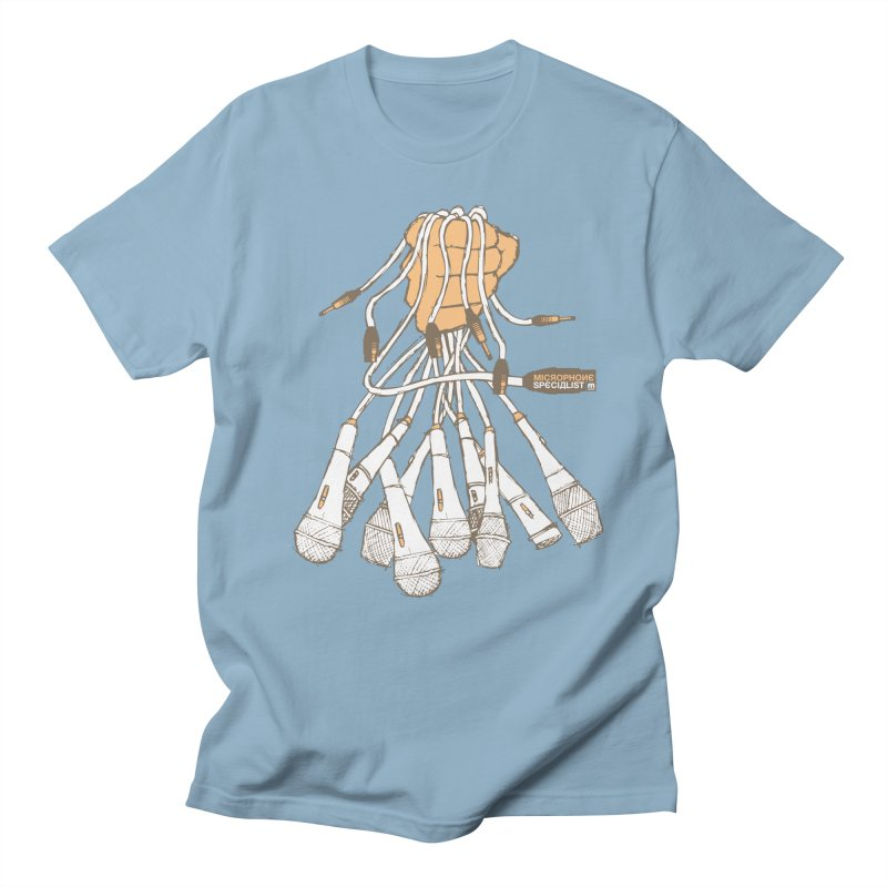 Microphone Specialist Men's Regular T-Shirt by magneticclothing's Artist Shop
