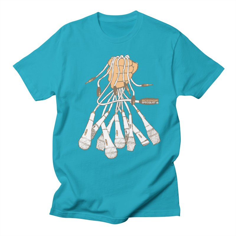 Microphone Specialist Men's T-Shirt by magneticclothing's Artist Shop