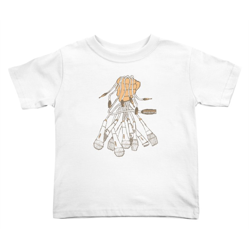 Microphone Specialist Kids Toddler T-Shirt by magneticclothing's Artist Shop