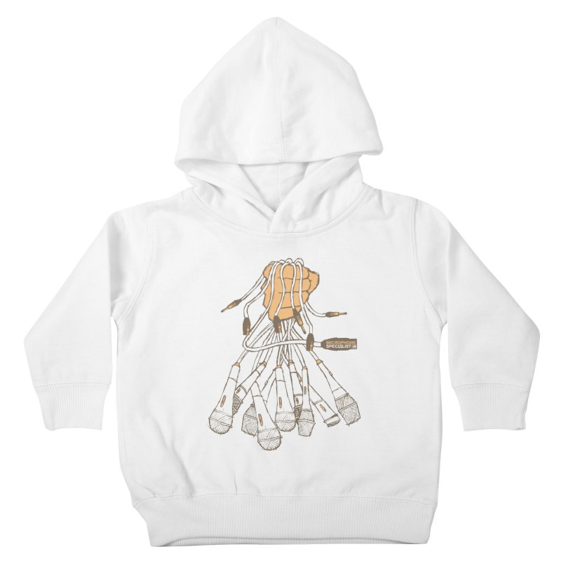 Microphone Specialist Kids Toddler Pullover Hoody by magneticclothing's Artist Shop