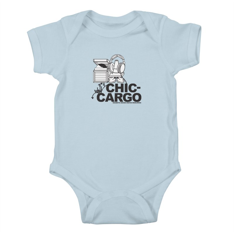 Kids Baby Bodysuit by magneticclothing's Artist Shop