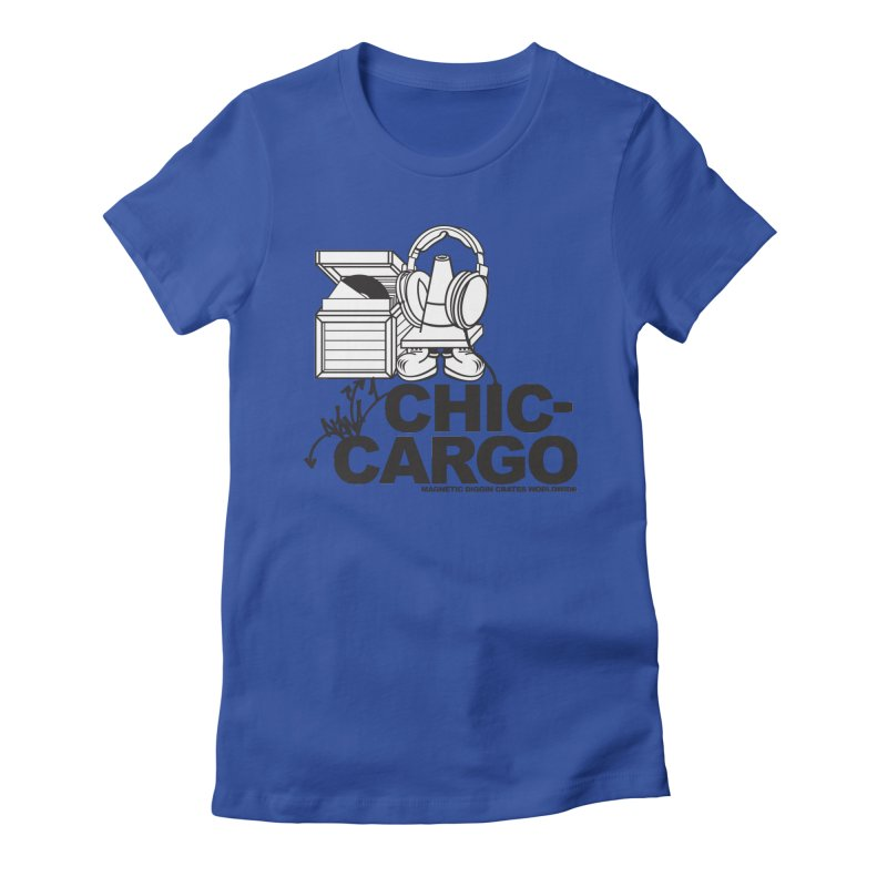Women's Fitted T-Shirt by magneticclothing's Artist Shop