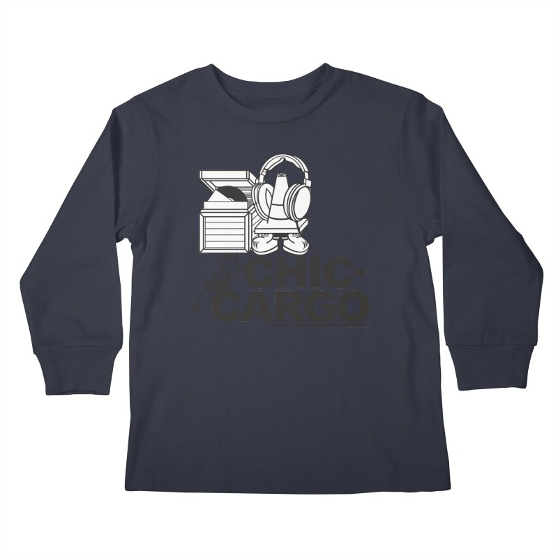 Kids Longsleeve T-Shirt by magneticclothing's Artist Shop