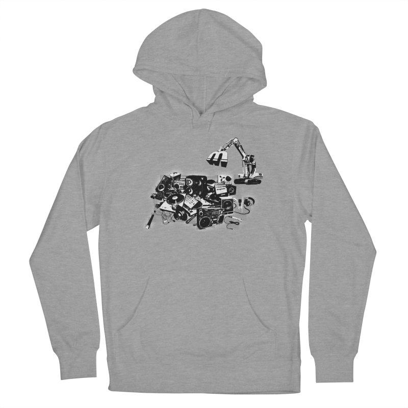 Hip Hop Junkyard Women's Pullover Hoody by magneticclothing's Artist Shop