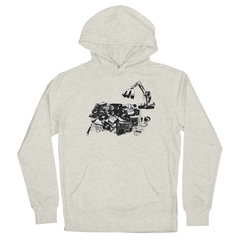 Hip Hop Junkyard Women's French Terry Pullover Hoody by magneticclothing's Artist Shop