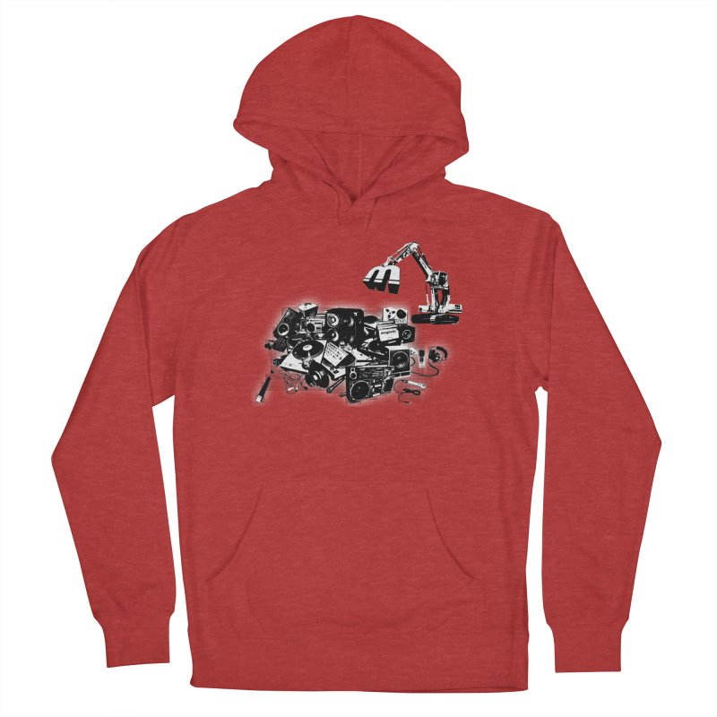Hip Hop Junkyard Men's French Terry Pullover Hoody by magneticclothing's Artist Shop