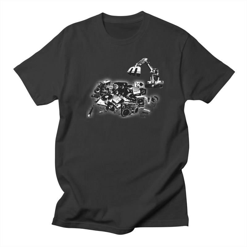 Hip Hop Junkyard Men's Regular T-Shirt by magneticclothing's Artist Shop
