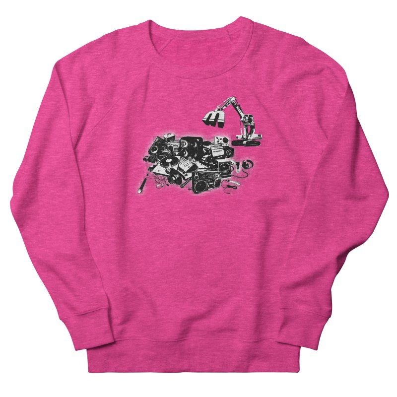 Hip Hop Junkyard Women's French Terry Sweatshirt by magneticclothing's Artist Shop