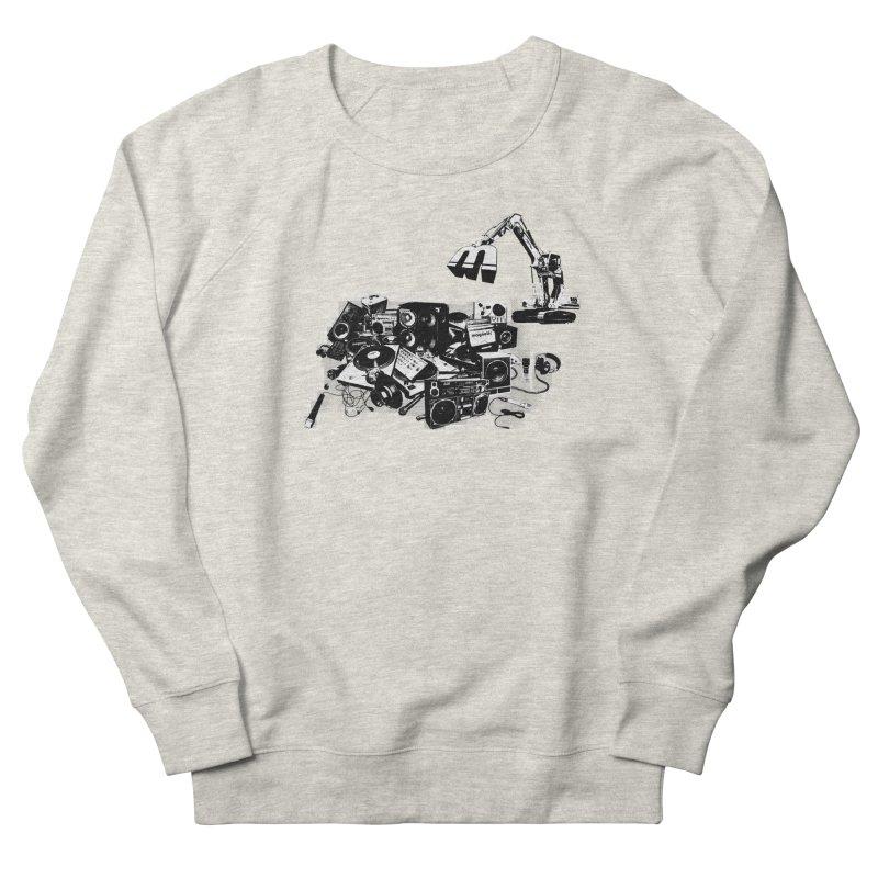 Hip Hop Junkyard Women's French Terry Sweatshirt by magneticclothing's Artist Shop