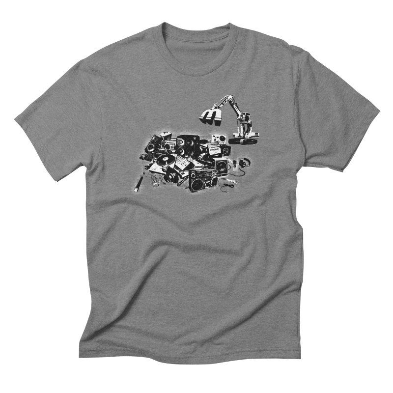 Hip Hop Junkyard Men's Triblend T-Shirt by magneticclothing's Artist Shop