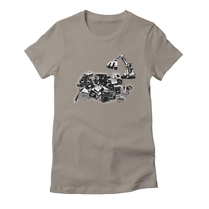 Hip Hop Junkyard Women's T-Shirt by magneticclothing's Artist Shop