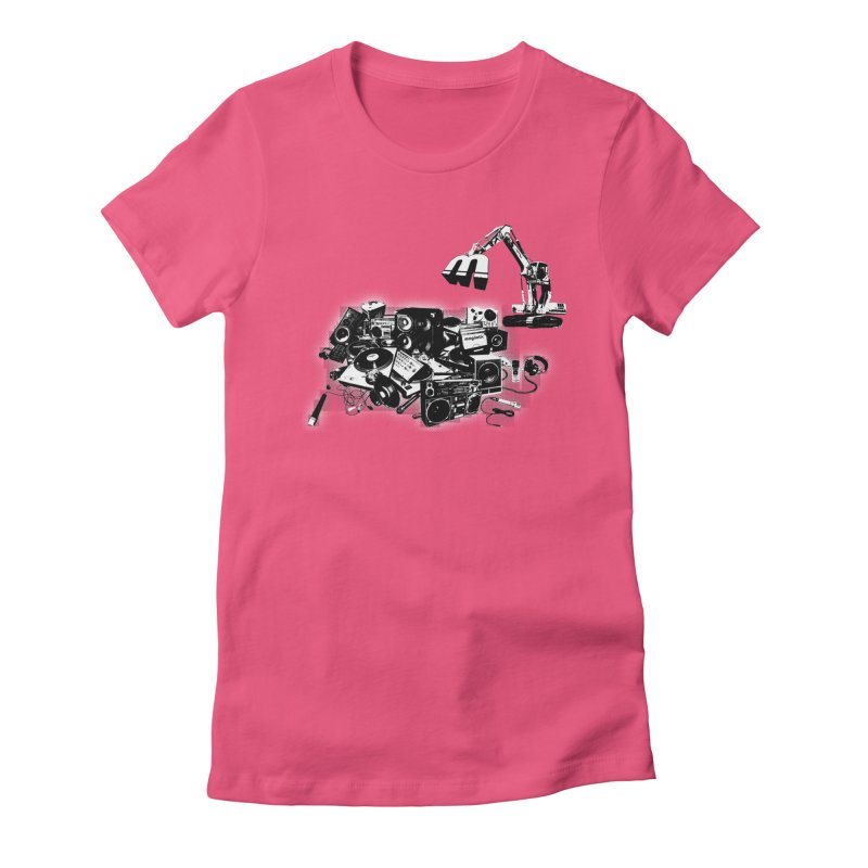 Hip Hop Junkyard Women's T-Shirt by magneticclothing's Artist Shop