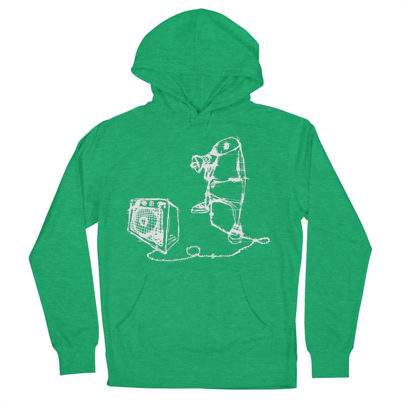 Megaphone Women's French Terry Pullover Hoody by magneticclothing's Artist Shop