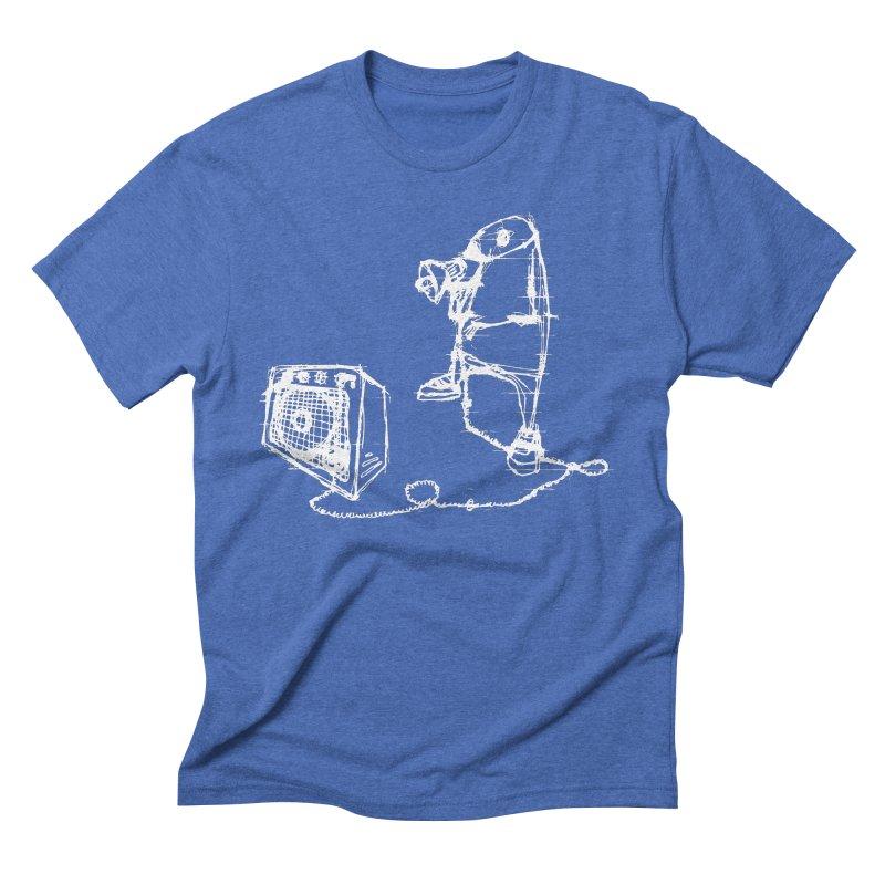 Megaphone Men's Triblend T-Shirt by magneticclothing's Artist Shop
