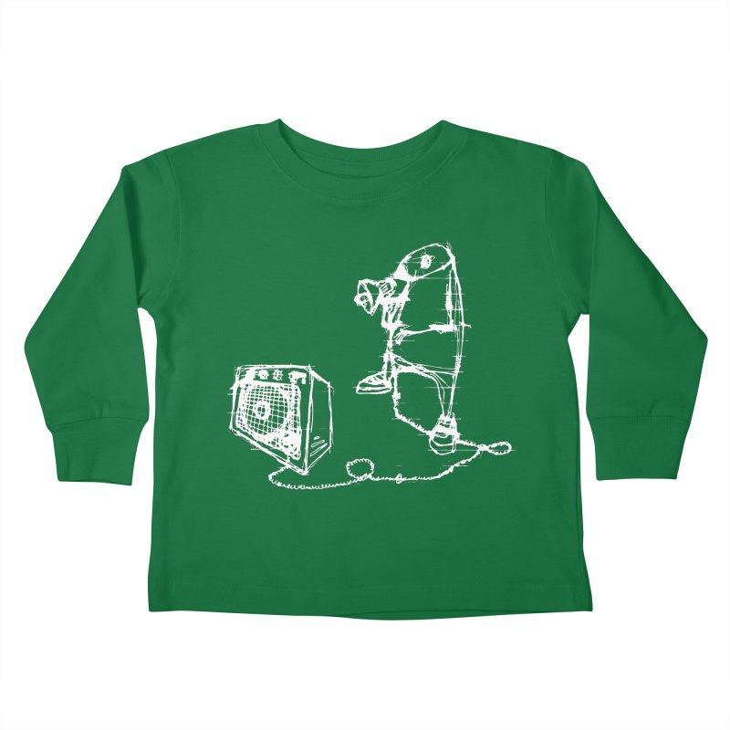 Megaphone Kids Toddler Longsleeve T-Shirt by magneticclothing's Artist Shop