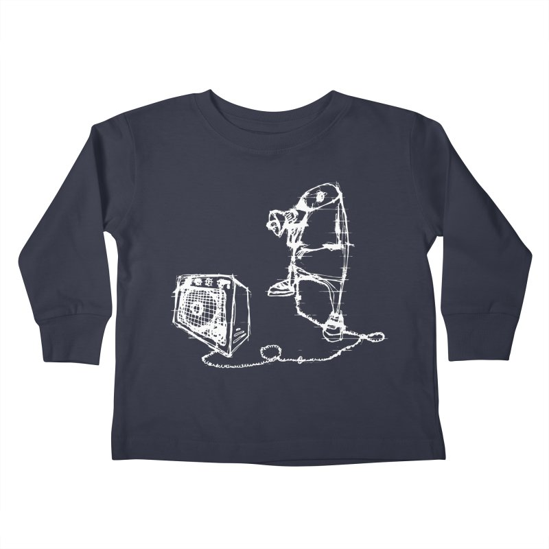 Megaphone Kids Toddler Longsleeve T-Shirt by magneticclothing's Artist Shop