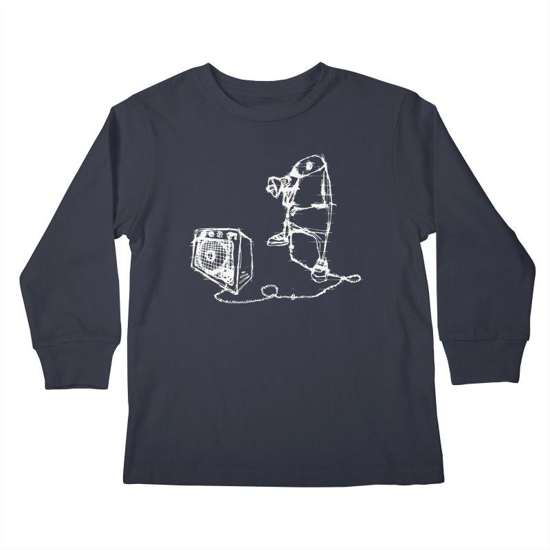 Megaphone Kids Longsleeve T-Shirt by magneticclothing's Artist Shop