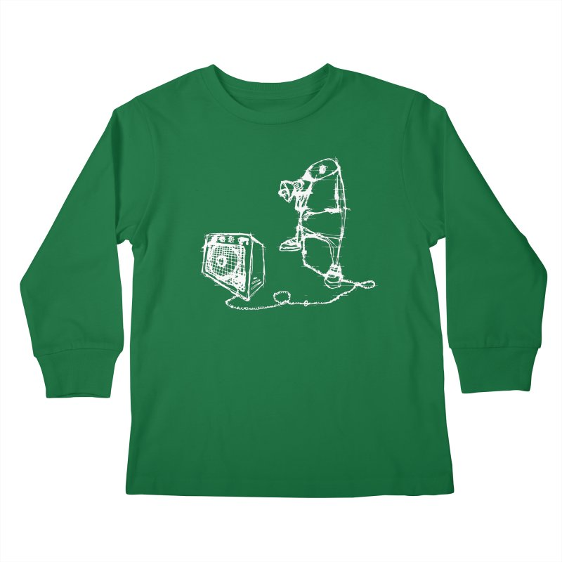 Megaphone Kids Longsleeve T-Shirt by magneticclothing's Artist Shop