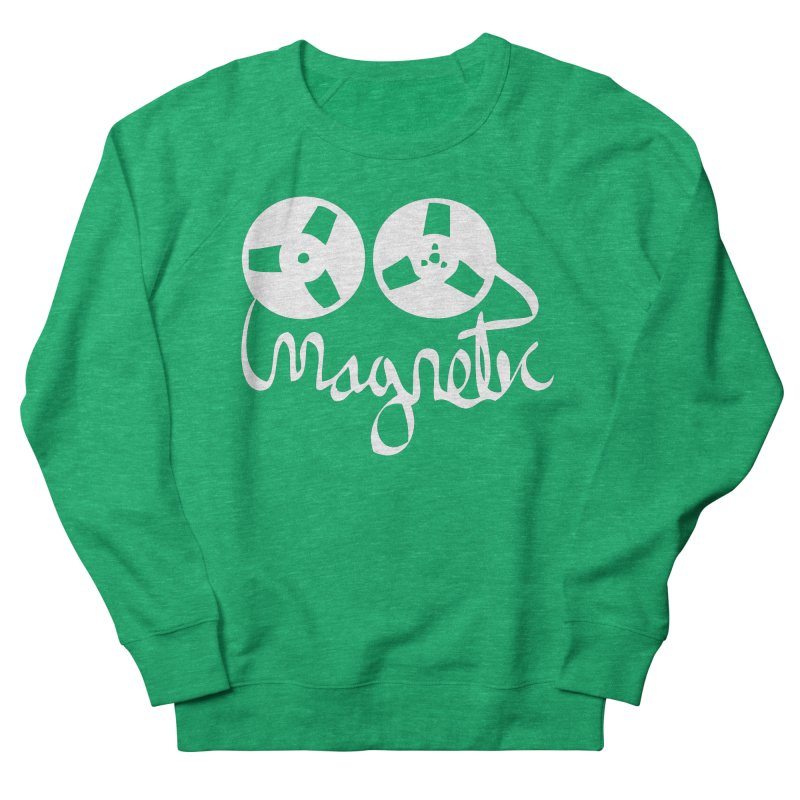 Magnetic Tape Reel Women's Sweatshirt by magneticclothing's Artist Shop