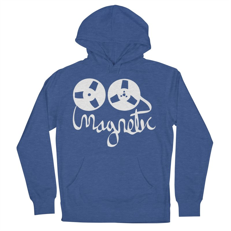 Magnetic Tape Reel Women's French Terry Pullover Hoody by magneticclothing's Artist Shop