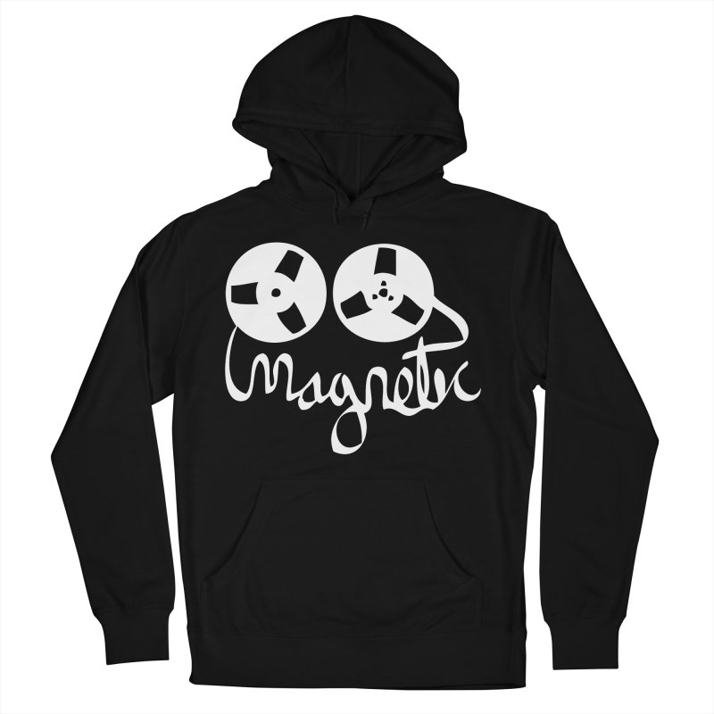 Magnetic Tape Reel Women's Pullover Hoody by magneticclothing's Artist Shop
