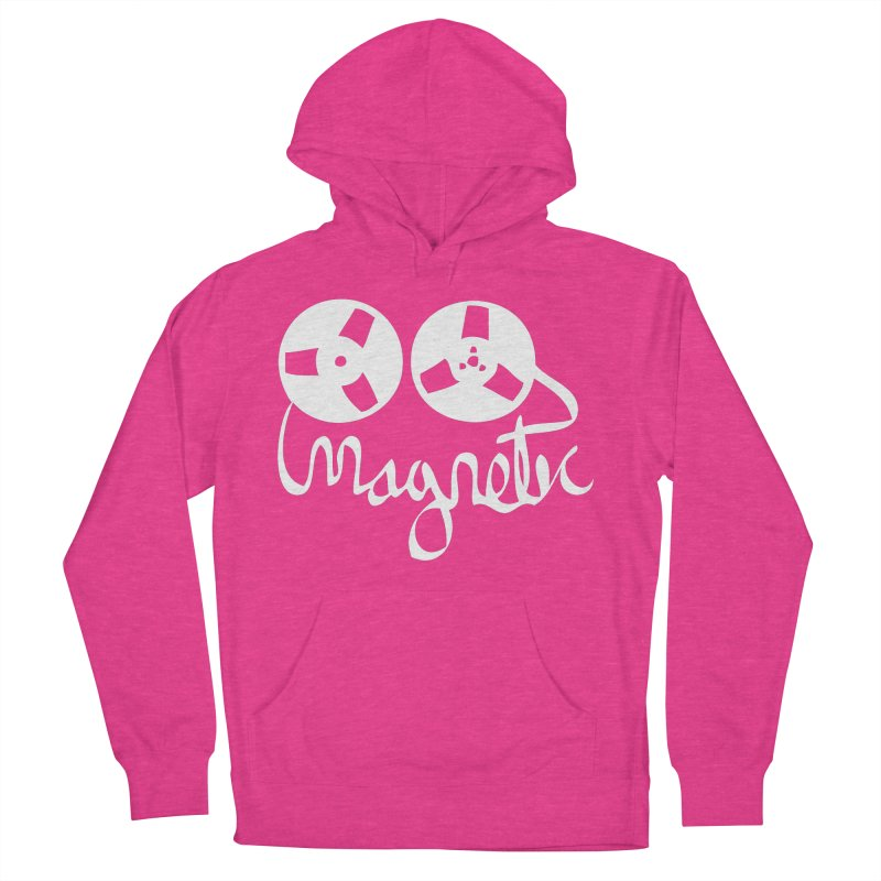 Magnetic Tape Reel Men's Pullover Hoody by magneticclothing's Artist Shop