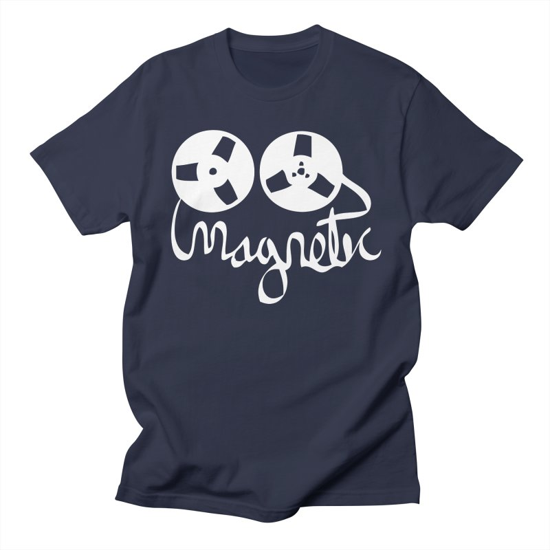 Magnetic Tape Reel Men's T-Shirt by magneticclothing's Artist Shop