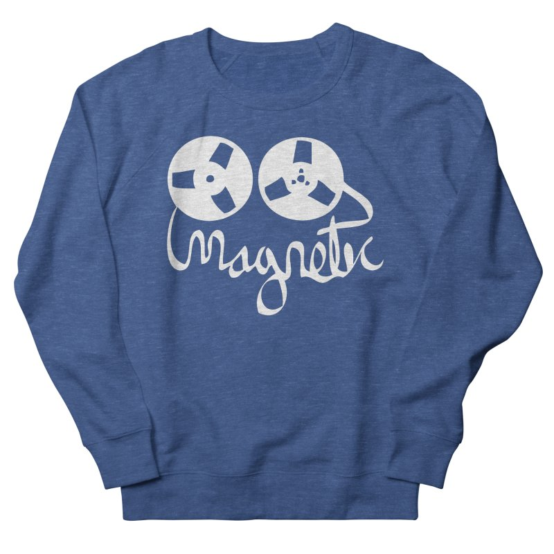 Magnetic Tape Reel Women's Sweatshirt by magneticclothing's Artist Shop