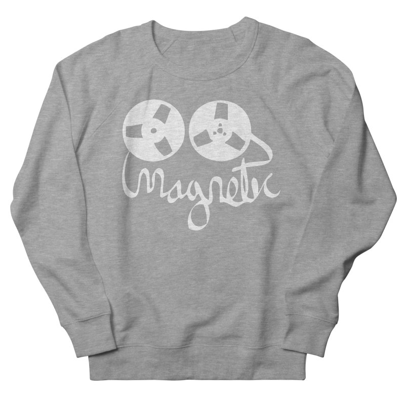 Magnetic Tape Reel Men's French Terry Sweatshirt by magneticclothing's Artist Shop