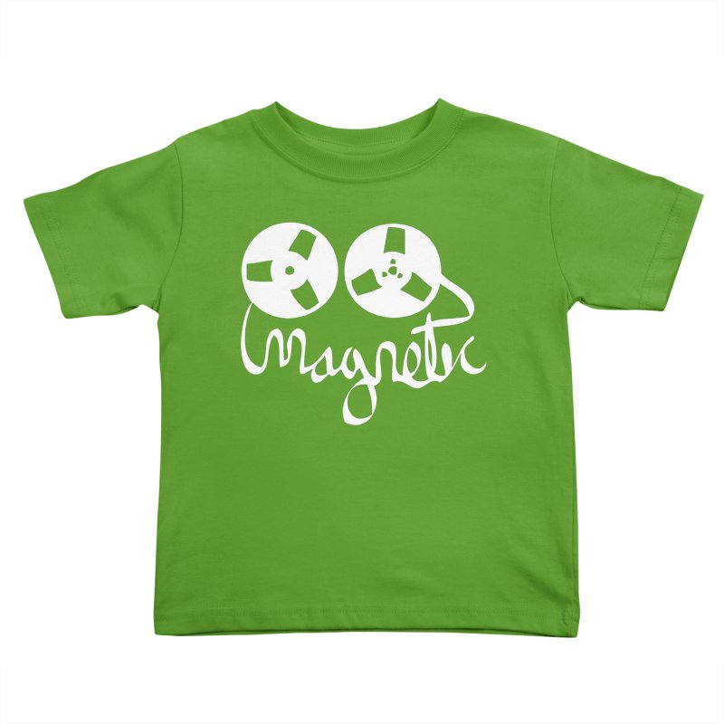 Magnetic Tape Reel Kids Toddler T-Shirt by magneticclothing's Artist Shop
