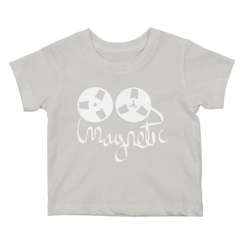 Magnetic Tape Reel Kids Baby T-Shirt by magneticclothing's Artist Shop