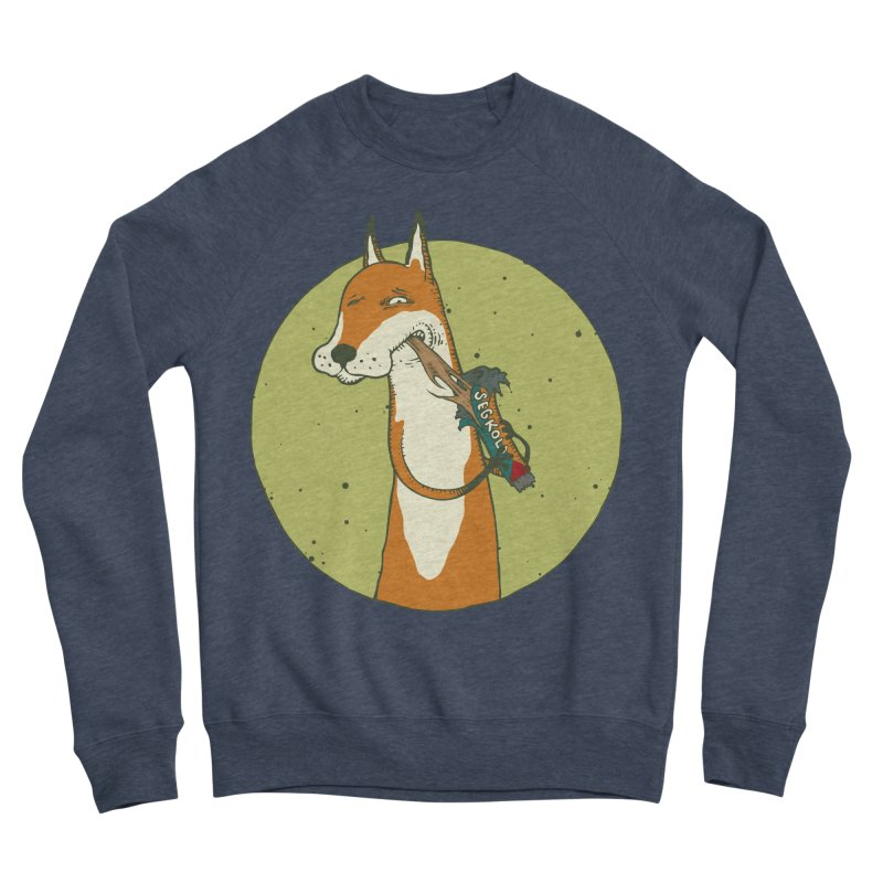 Fox vs toffee Men's Sponge Fleece Sweatshirt by Magnus Blomster