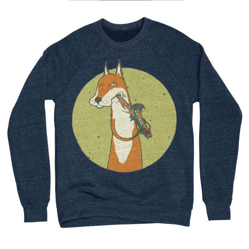 Fox vs toffee Men's Sponge Fleece Sweatshirt by Magnus Blomster