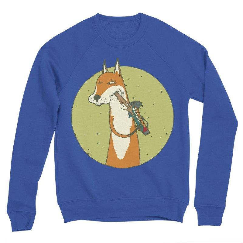 Fox vs toffee Women's Sponge Fleece Sweatshirt by Magnus Blomster