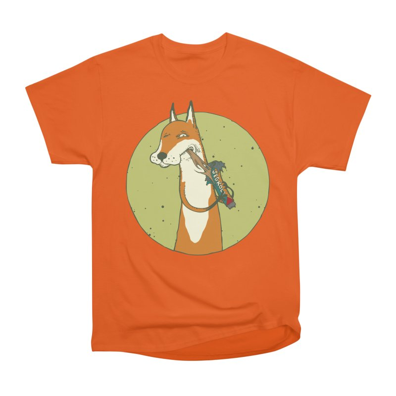 Fox vs toffee Men's T-Shirt by Magnus Blomster