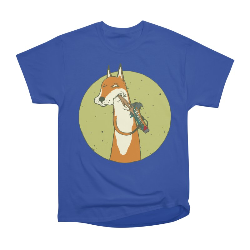 Fox vs toffee Men's Heavyweight T-Shirt by Magnus Blomster