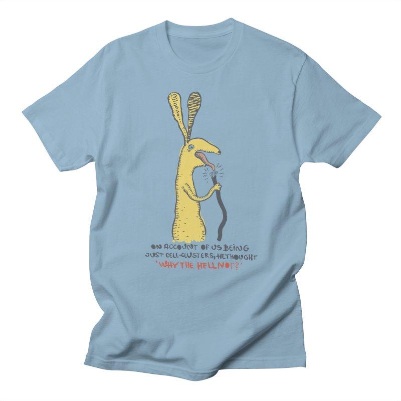 Cell-cluster bunny Women's Regular Unisex T-Shirt by Magnus Blomster