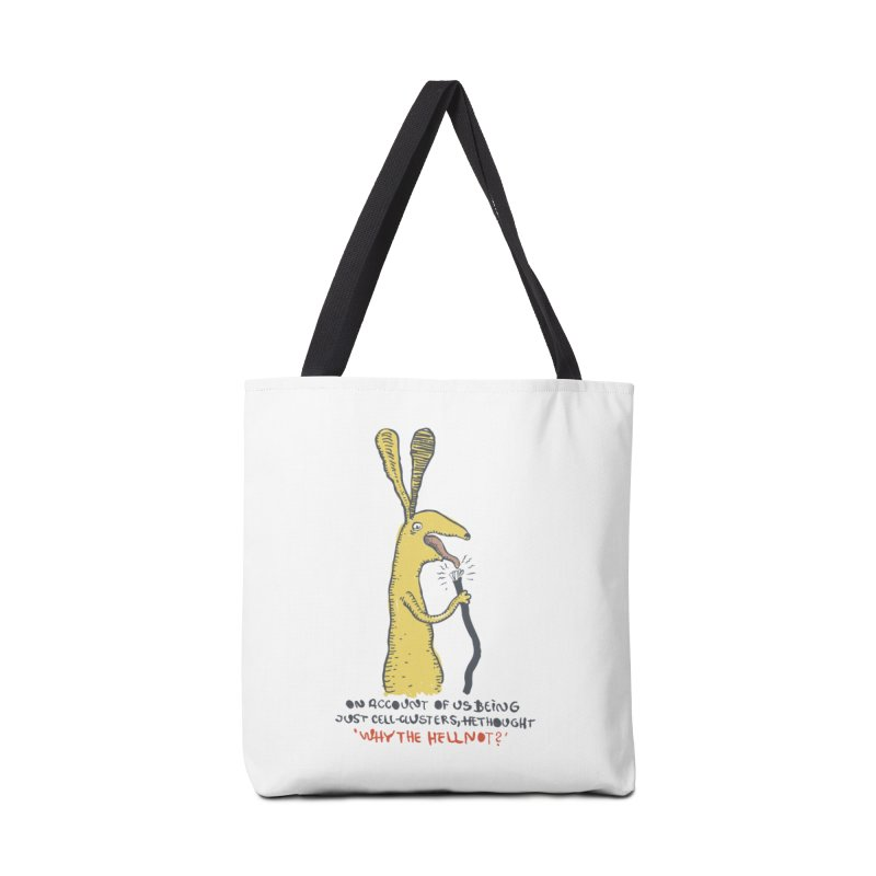 Cell-cluster bunny Accessories Tote Bag Bag by Magnus Blomster