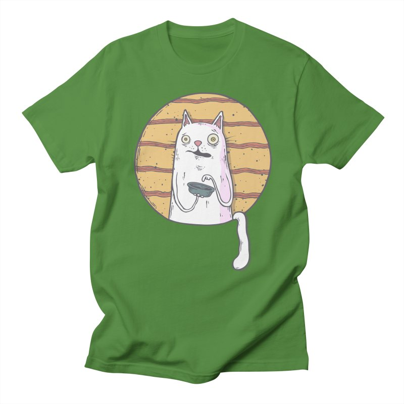 Starving cat Men's Regular T-Shirt by Magnus Blomster