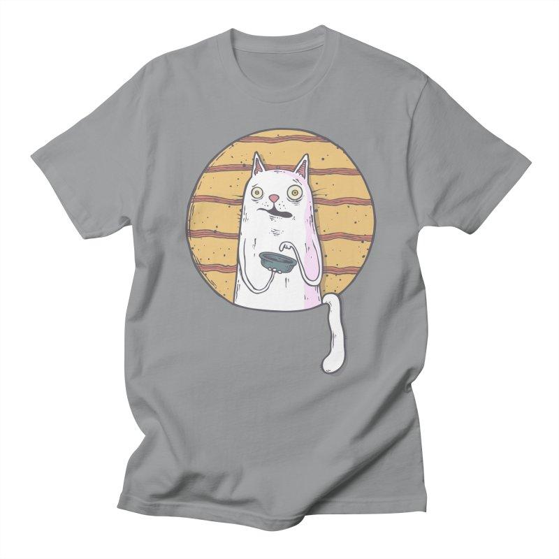 Starving cat Women's Regular Unisex T-Shirt by Magnus Blomster