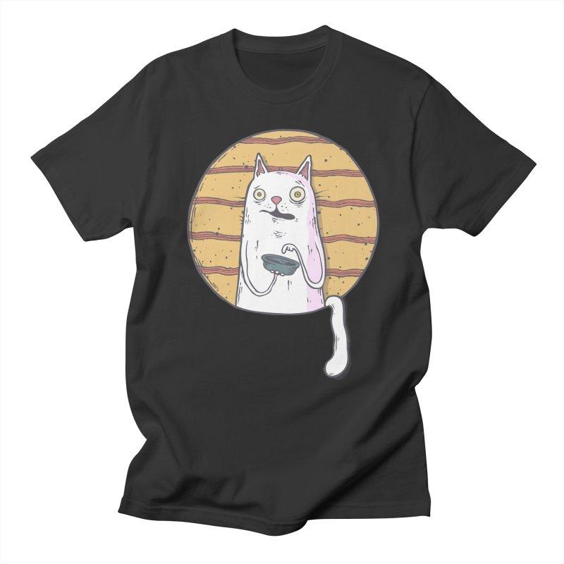Starving cat Men's Regular T-Shirt by Magnus Blomster