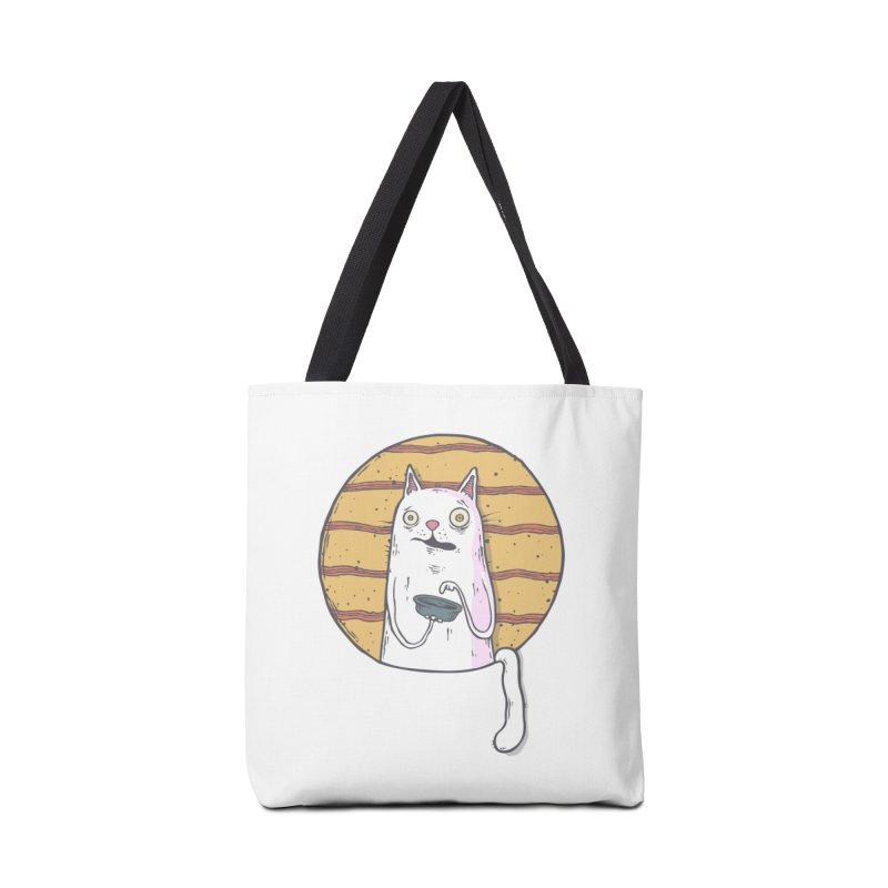 Starving cat Accessories Tote Bag Bag by Magnus Blomster