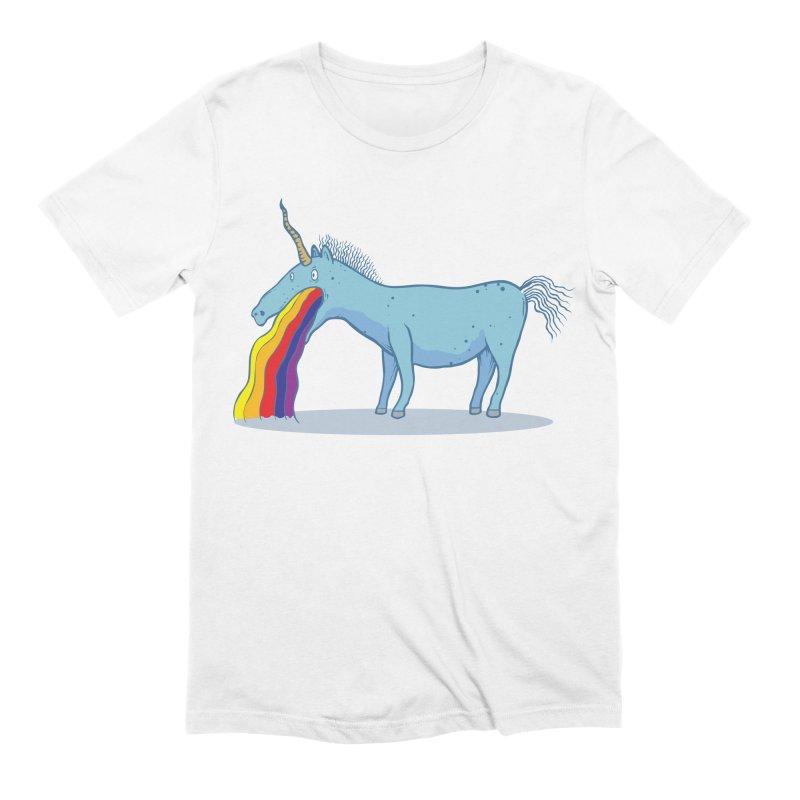 Puke-icorn Men's Extra Soft T-Shirt by Magnus Blomster