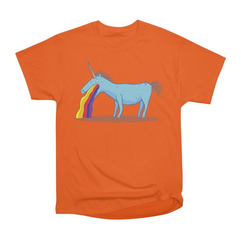 Puke-icorn Women's T-Shirt by Magnus Blomster