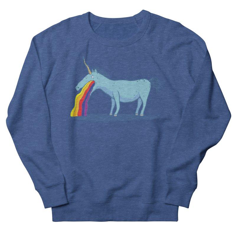 Puke-icorn Men's Sweatshirt by Magnus Blomster