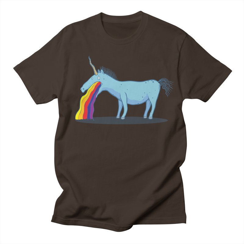 Puke-icorn Men's Regular T-Shirt by Magnus Blomster